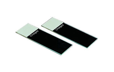 Premiere Glass Slides, Positively Charged, Frosted End, White (1,440 slides)
