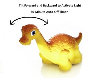 Dinosaur Night Light - Battery Powered - Motion Activated Night Light with Timer