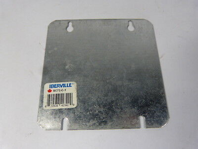 Iberville BC72-C-1 Square Box Cover 4-11/16  USED