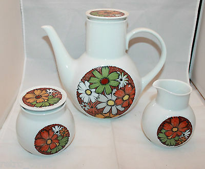 Noritake Younger Image Culebra Sugar Pot Creamer Coffee Tea Pot Set 6921 Japan