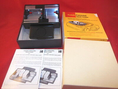 1X Vintage KODAK Carousel Stack Loader No B40 Looks Complete With Box And More!