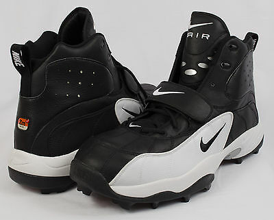 official photos 75365 b702d New Nike Air Pro Shark Stove 00 Football Black Cleats As114