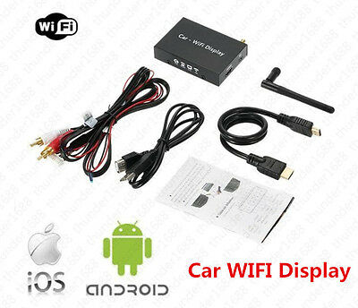 Mirror Link Car/home Wifi Display With Airplay Miracast Dlna For Iphone Android