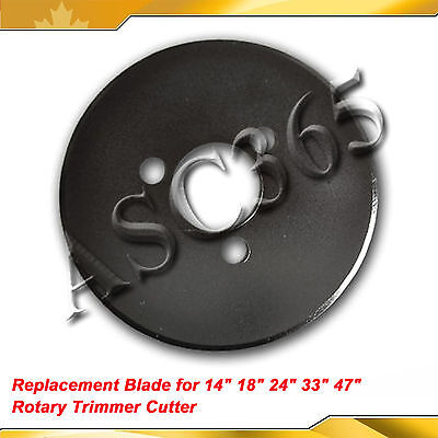 "Replacement Premium Carbide Blade for 14"" 18"" 24"" 34"" 48"" Rotary Trimmer Cutter"
