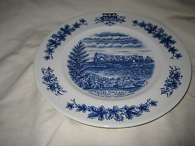 Wood & Sons Atlantic Canada Collector Plate Rocher Perce Rock Gaspesie Quebec