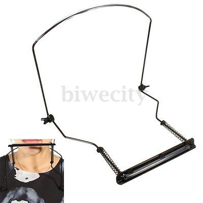Convenient Metal Harmonicas Neck Holder For 10 Holes Mouth Organ Stand Harp Rack