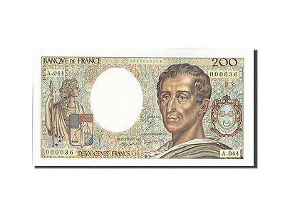 Billets, France, 200 Francs, 200 F 1981-1994 ''Montesquieu'', 1987 #208673