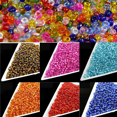 1500pcs 2mm Czech Glass Crystal Finding Charm Loose Spacer Beads Jewelry Making