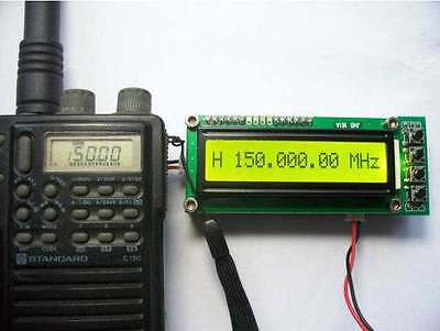 0.1-1200 MHz 0.1-1.2 GHz Frequency Counter Tester Measurement For Ham Radio