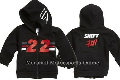 Shift Replica Chad Reed Two 22 Pee wee hoody zip jacket boys Size 2-4