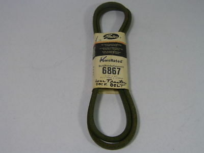 "Gates 6867 Powerated V-Belts 1/2"" X 67""  NEW"