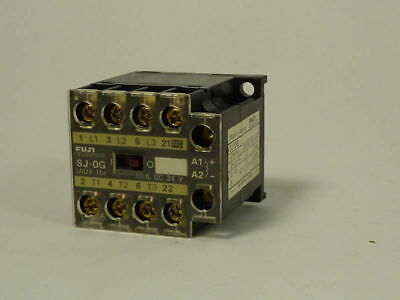 Fuji Electric Magnetic Contactor SJ-0G  USED