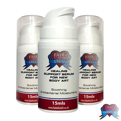 Fade the Itch Tattoo Aftercare for Faster Heal Time, Itch Relief and Dry Skin