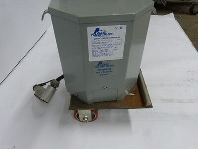 Acme T-2-53515-3S 7.5 KVA Pri 240 / 480 Sec 120 / 240 1 PH Transformer  USED