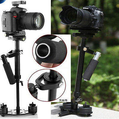 S40 Handheld Stabilizer Steadicam With Bag For Camcorder Camera Video DV DSLR UK