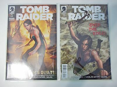 Tomb Raider #1-5 by Dark Horse. Signed by Gail Simone! NM/Mint. Mylar Bagged.
