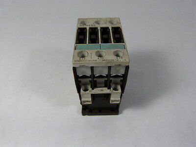 Siemens 3RT1026-1AK60 Contactor 40A 3P 110/120V Coil  USED