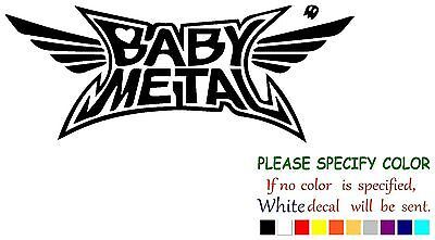 Babymetal metal Kawaii metal Decal Sticker JDM Funny Vinyl Car Truck Window 7""