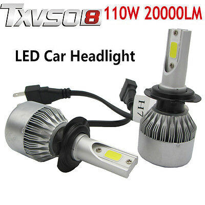110w h7 cree phare led ampoule light headlight kit 6000k voiture feux auto lampe eur 28 49. Black Bedroom Furniture Sets. Home Design Ideas