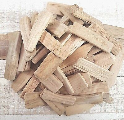 Driftwood Wooden 500G Approx 45 Pieces Small Plaques For Craft Work Home Decor