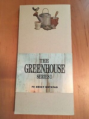 Longaberger Greenhouse Series I  Note Pad