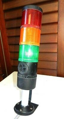 Telemecanique Signal Tower 3-Stack  Light And Siren (Item#s 948 /3)