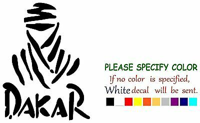 Dakar Rally Decal Sticker JDM Funny Vinyl Car Truck Window Bumper Laptop 12""