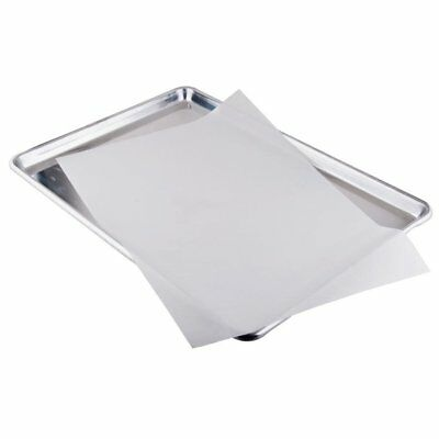Bleached White Parchment Paper Baking Sheets Pan Liner 12x16 50 Pack