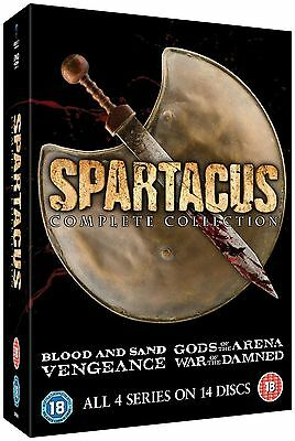Spartacus: The Complete Collection Dvd Box Set New/Sealed