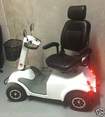 Electric Mobility Scooter BRAND NEW HEAVY DUTY 180kg UWC with shade canopy