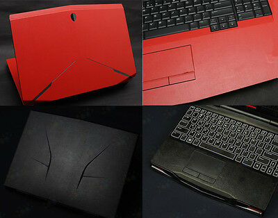 Laptop Leather Skin Cover Sticker Protector for Alienware M17X R3 R4 2012release