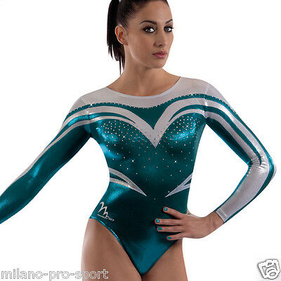 "Milano Pro Sport Gymnastic leotard 'Sienna 162002' - Sizes 26""-36"" - NEW"