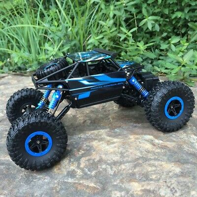 New Off Road Remote Control 1/18 2.4G 4WD Rock Crawler Radio RC Trunk Car Toy UK