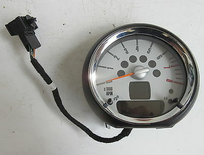 Genuine Used MINI Chrome Rev Revolution Counter for R56 R55 R57 R58 - 9153407