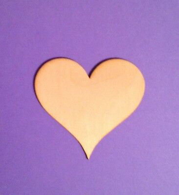 WOODEN LASER CUT SHAPES - HEARTS - Multiple Sizes - Made in U.S.A.