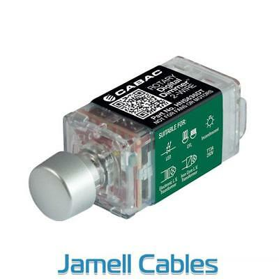Cabac S-Premium Rotary Digital Dimmer 3-Wire (Clipsal Saturn) HNS636DT