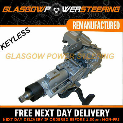 KEYLESS! RENAULT CLIO mk3 ELECTRIC STEERING COLUMN,RECONDITIONED DECODED