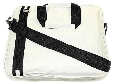 Document Bag, Laptop, Messenger Bag, Shoulder Strap, 3 Colours Blue,black &beige