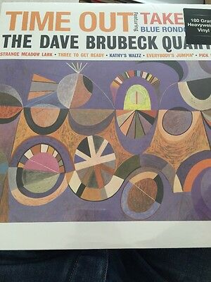 The Dave Brubeck Quartet 'Time Out' 180gram Vinyl LP BRAND NEW & SEALED