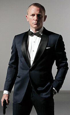 Custom Made Mens Tuxedo Groom Suit Business wedding Party Prom Dinner suit