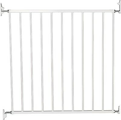 BabyDan No Trip Screw Mounted Gate White Stair Gate New