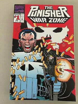 Punisher War Zone (1992) #1 Lot Of 10 Copies NM Die-Cut Cover Romita JR