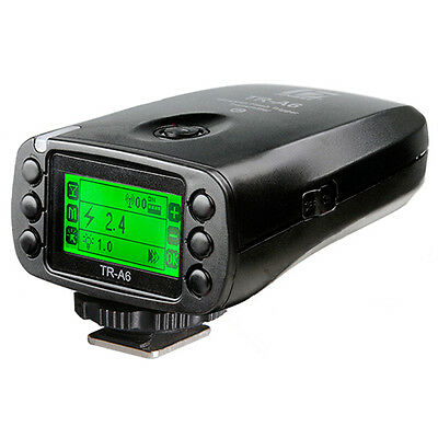 Jinbei TR-A6/C LCD 2.4G Wireless HSS Flash Controller 1/8000s for Canon Camera