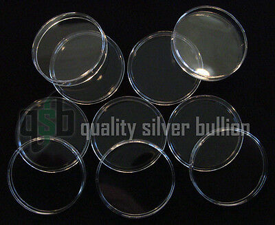 5 - 39mm Capsule Double Thick - Fits UK Queen's Beasts £5 2 oz. Silver Coin