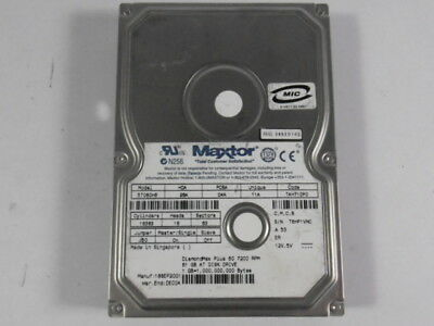Maxtor 5T060H6 Hard Drive 60GB 7200RPM  USED
