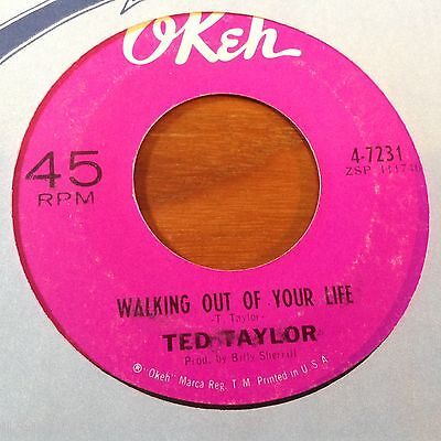 Ted Taylor-Walking Out Of Your Life-Okeh 7231.