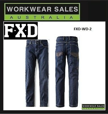 FXD WD-2 Work Jeans Workwear Mens without Knee Pads