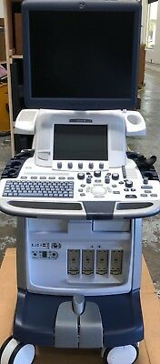 Logiq E9 BT13 (R4) with XDClear – Refurbished by GE 2016 w/ 3 Brand New Probes