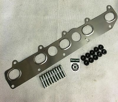 Defender TD5 Exhaust Manifold Gasket With Genuine Land Rover Studs & Nuts