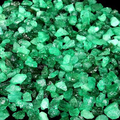 None Treatment Zambian 2500 Ct. (1/2kg) Natural green Emerald Rough Gemstone Lot